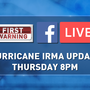 WATCH: Join ABC15's Ed Piotrowski LIVE at 8 p.m. Thursday for an update on Hurricane Irma