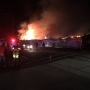 Crews battle fruit warehouse fire in Wenatchee