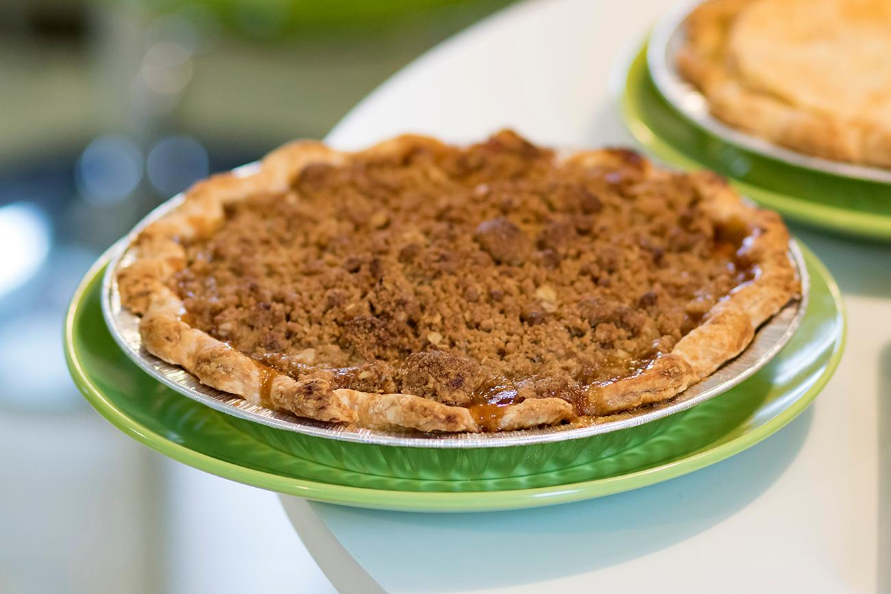<p>Apple brown sugar pie, a signature pie available all year-round / Image: Allison McAdams // Published: 2.7.19  </p>