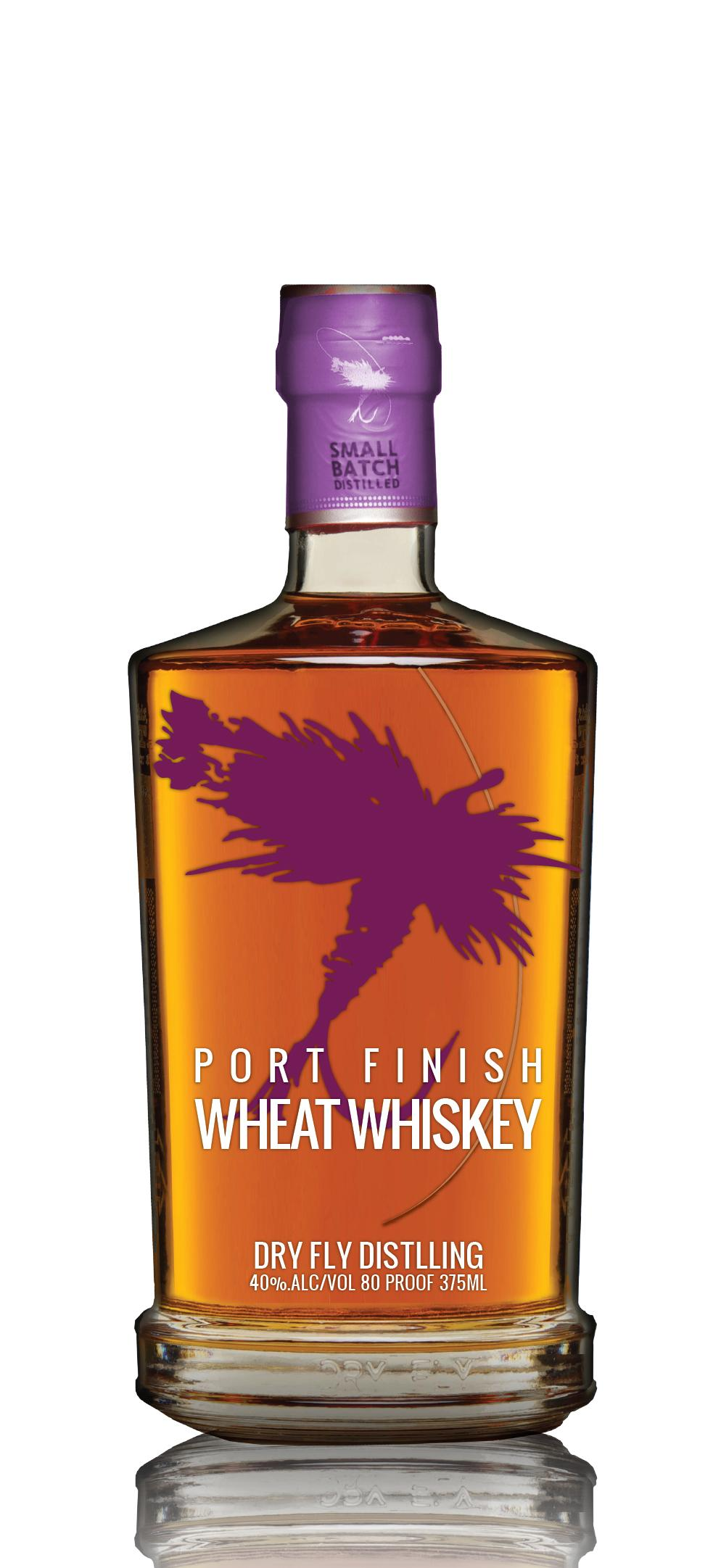 1st Place: Dry Fly Distilling Port Finish Wheat Whiskey. (Image: Sip Northwest)