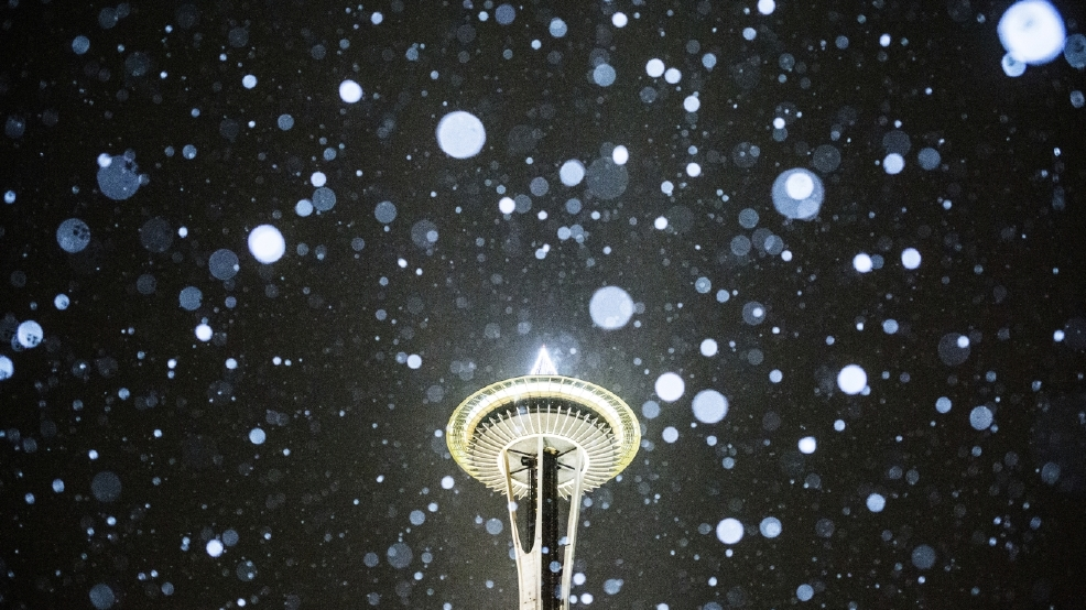 Veteran oddsmaker gives slim, but not impossible chance for White Christmas in Seattle