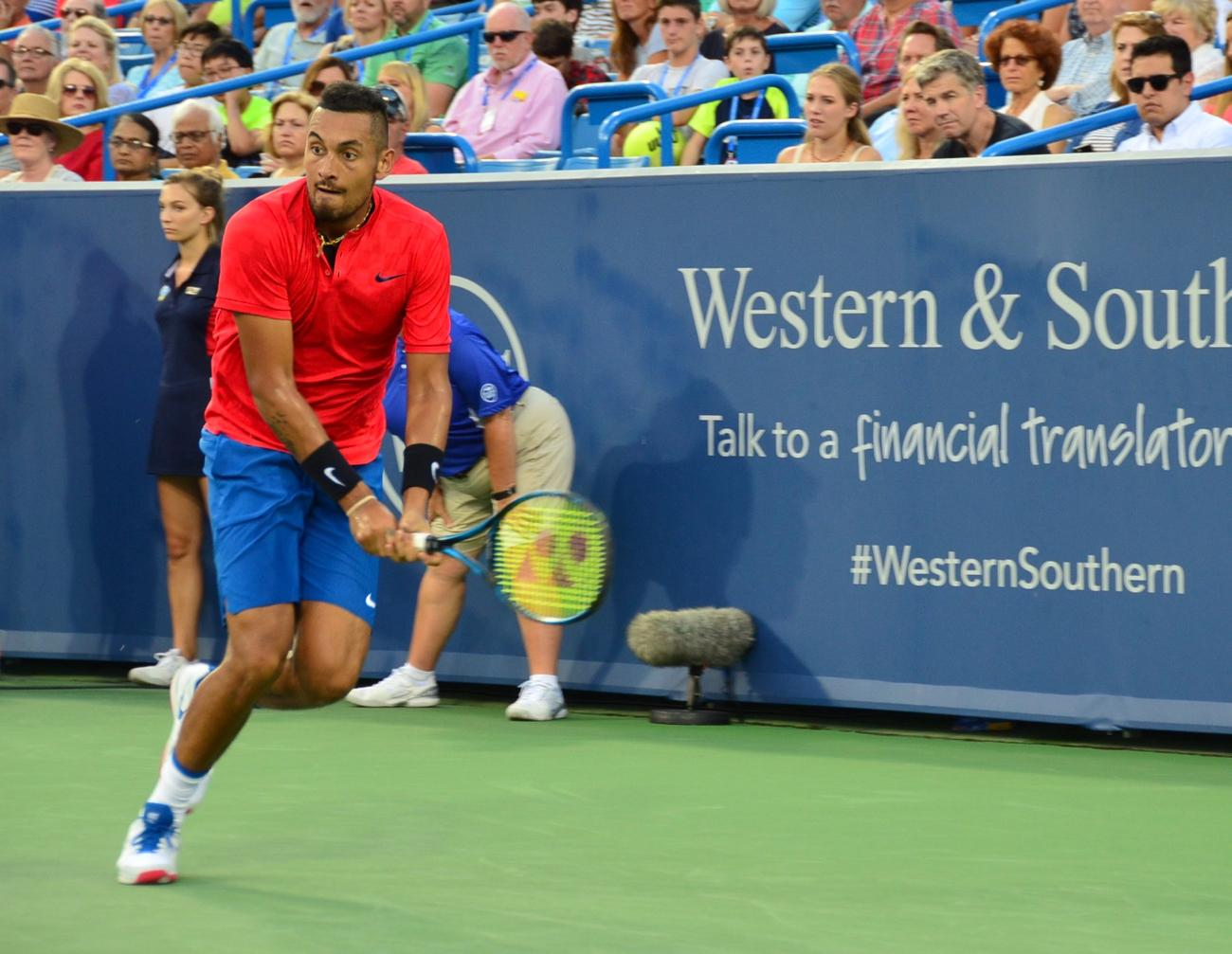 Nick Kyrgios / Image: Leah Zipperstein, Cincinnati Refined // Published: 8.21.17