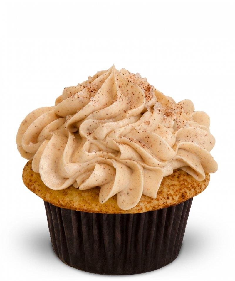 Snickerdoodle Cupcake{ }(Photo: Trophy Cupcakes)