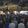 More than 11,000 people get a glimpse of history at Memphis Belle's public debut